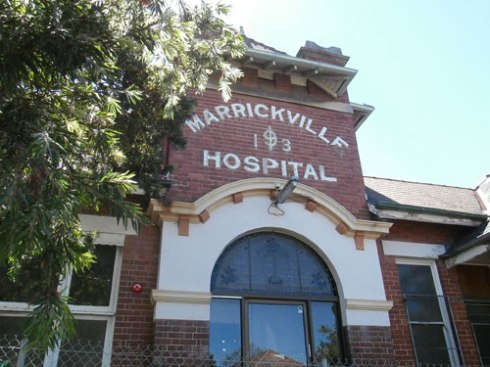 Marrickville Hospital building