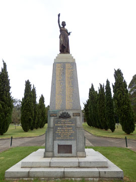 The WW1 War Memorial