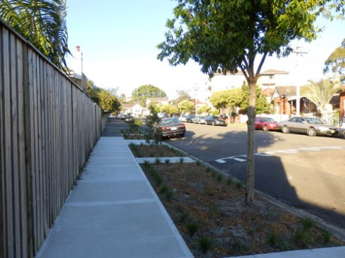 Four new verge gardens for Riverside Crescent Dulwich Hill - a big improvement