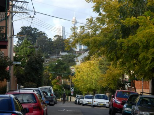 I am always stuck by how green & leafy Erskineville is, despite the narrow streets.