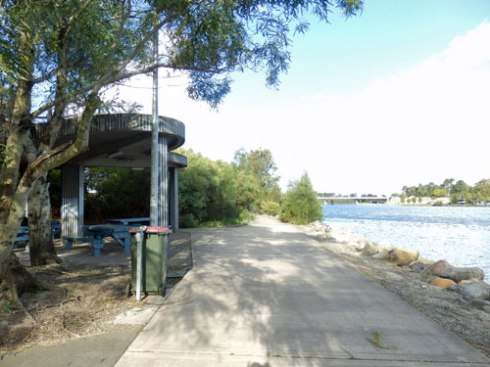 This is the second most popular fishing spot in Tempe Reserve
