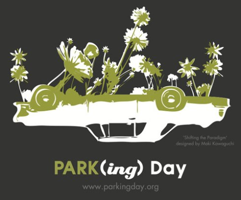 Park(ing) Day poster