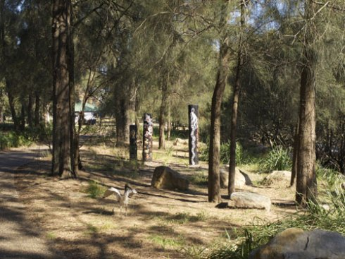 The installation of the Story Poles has been completed in Kendrick Park Tempe.