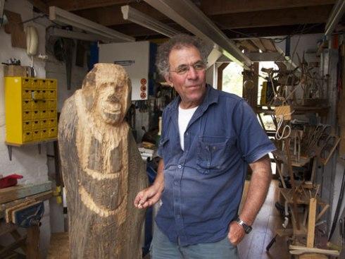 Hilik Mirankar in his Glebe studio