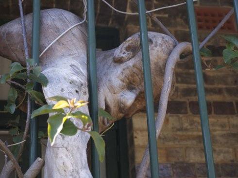 Hilik Mirankar sculpture Queen Street Glebe