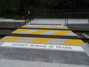 Wheelchair access from Jack Shanahan Reserve