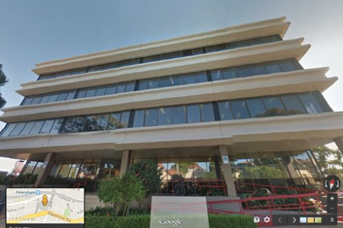 Marrickville Council Administration building - image from Google Street View.