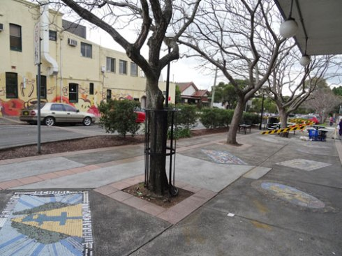 Public space corner of Malakoff Street & Marrickville Road.