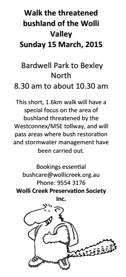 Wolli-Creek-walk-Saving-Our-Trees