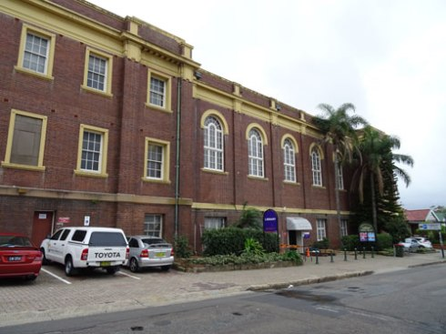 2015 - Marrickville Town Hall almost denuded of trees.