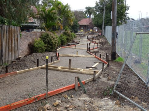 Marrickville Council has commenced work on Kays Avenue East laneway Dulwich Hill