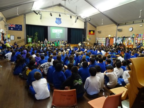 Summer Hill Public School on National School Trees Day