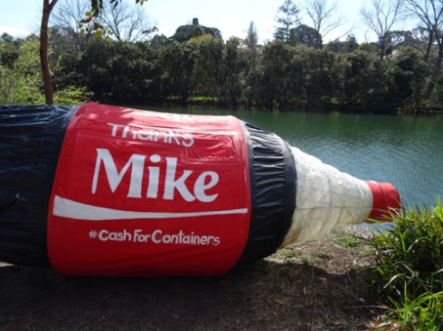 'Mike' is Mike Baird MP & Premier of New South Wales.  I hope he & his party listens to the loud call from the community for a Cash for Containers scheme to be returned to NSW.  The environment needs it desperately.