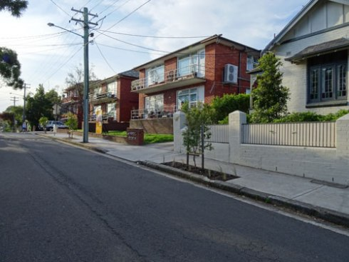 New street trees along a great stretch of Newington Road Stanmore.