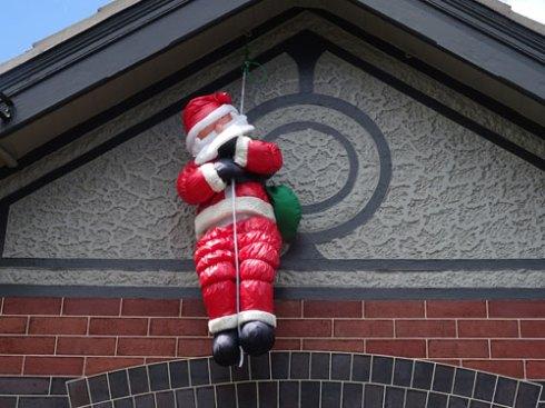 Santa in Dulwich Hill