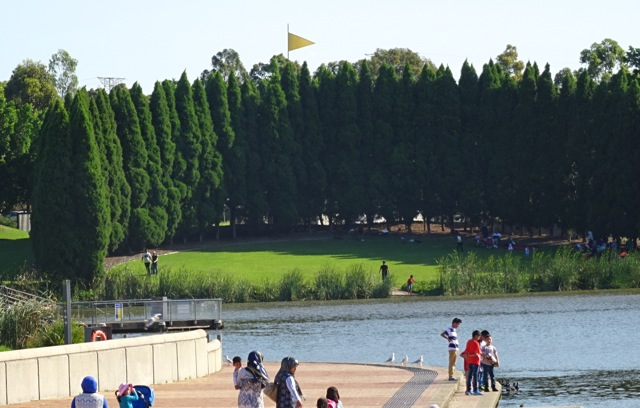 A Small View Of Lake Belvedere