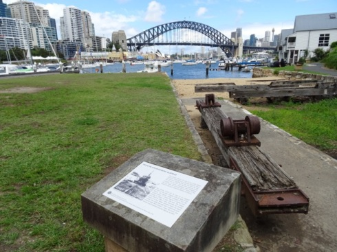 Historic slipway Quibaree Park