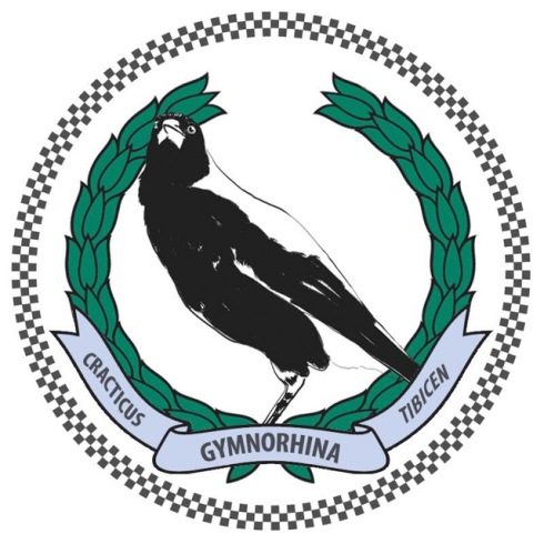 The Magpie Badge for the NSW Police Force. Fierce!