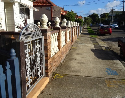 What is left after 4 street trees were removed by Marrickville Council last week.