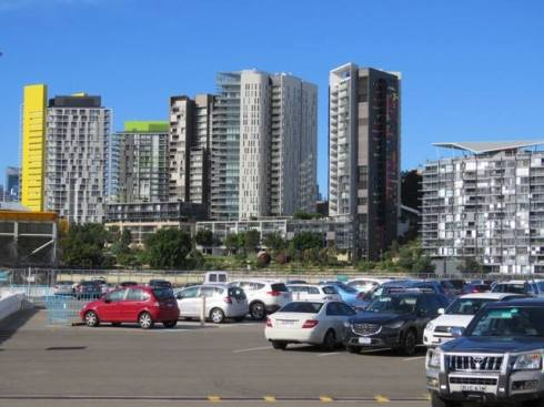 Pyrmont skyline from White Bay