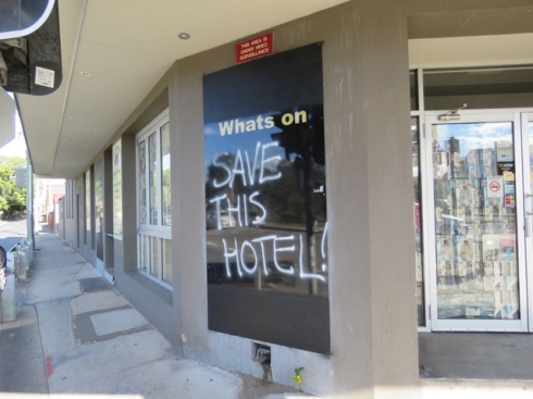 The Town and Country Hotel at St Peter's -immortalised in the Duncan song by Slim Dusty is a casualty of WestConnex.