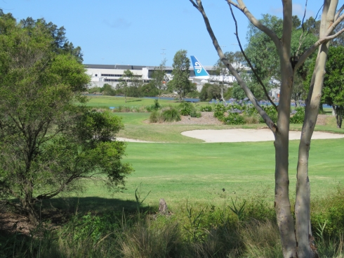 The current Kogarah Golf Course is just across the river from Sydney Airport. While we were on the southern side just outside the golf course, we could hear the planes revving loudly. It made us wonder how people could live here. The noise would be intolerable in our opinion.